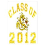 Class Of 2012 Dragon Wall Art