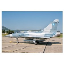 A Mirage 2000 of the Hellenic Air Force at Tanagra