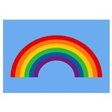 Retro Rainbow Wall Art