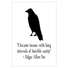Edgar Allen Poe Quote Wall Art