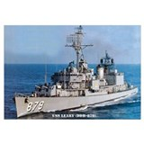USS LEARY Wall Art
