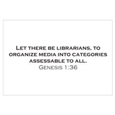 Librarians / Genesis Wall Art