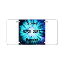 EXCUSES PYH Aluminum License Plate