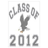 Class Of 2012 Eagle Wall Art