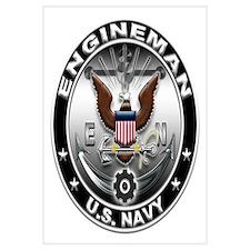 USN Engineman Eagle EN Wall Art