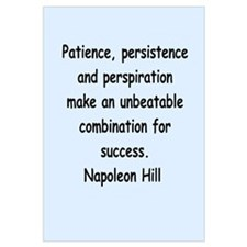 Napolean Hill quotes Wall Art