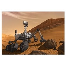 Mars Science Laboratory Wall Art