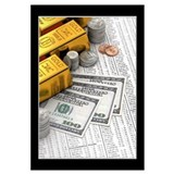 Stocks and currency Wall Art