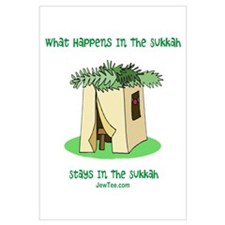 Sukkah Happenings Wall Art