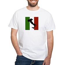 italian-boot-flag-stitch T-Shirt