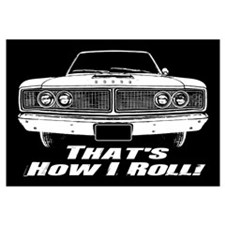 How I Roll - Dodge Coronet Wall Art