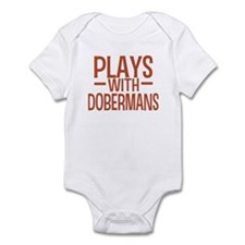 PLAYS Dobermans Onesie