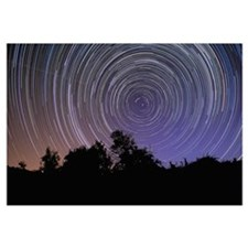 Circular star trails taken from Alentejo, Portugal