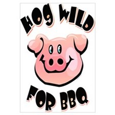 Hog Wild For BBQ Wall Art