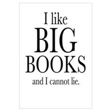 I LIke Big Books Wall Art