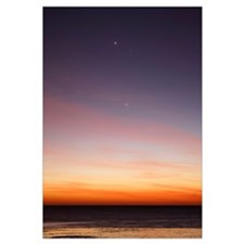 Conjunction of Venus, Mercury, Jupiter and Mars at