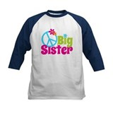 Peace Sign Big Sister Tee