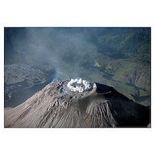 Eruption at summit of Santiaguito dome complex, Sa
