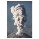 Eruption of ash cloud from Santiaguito dome comple