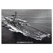 USS ORISKANY Wall Art