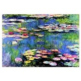 MONET WATERLILLIES Wall Art