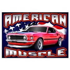 American Muscle - Mustang Wall Art