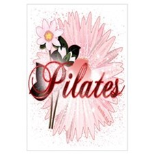 Pink PIlates Flowers by Svelte.biz Wall Art