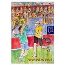 Tennis! Wall Art