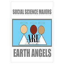 Social Science Majors are Ear Wall Art