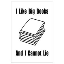 I Like Big Books Wall Art