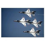 The U.S. Air Force Thunderbird demonstration team