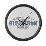 Gunnison National Park CO Large Wall Clock