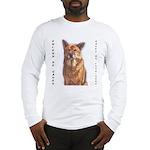 Pet Portrait Custom Art Long Sleeve T-Shirt