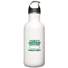 Property of American Bulldog Water Bottle