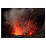 Strombolian eruption of Mount Bromo volcano, Tengg