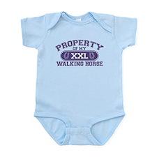 Walking Horse PROPERTY Infant Bodysuit