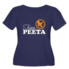 Hunger Games Women's Plus Size Scoop Neck Dark T-S