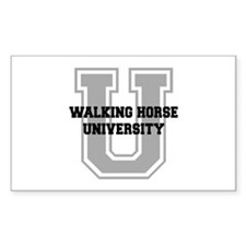 Walking Horse UNIVERSITY Decal