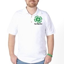 Customizable Stacked Shamrock T-Shirt