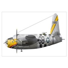 Illustration of a Martin-B-26 Marauder