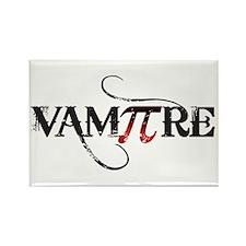 Pi Day Vampire Rectangle Magnet