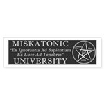 Miskatonic University Sticker (Bumper 50 pk)