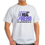 Never Knew a Hero Esophageal Cancer T-Shirt