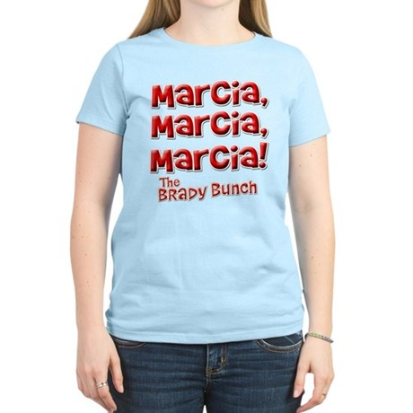 Marcia Brady Bunch Womens Light T-Shirt