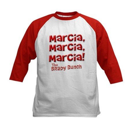 Marcia Brady Bunch Kids Baseball Jersey