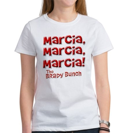 Marcia Brady Bunch Womens T-Shirt