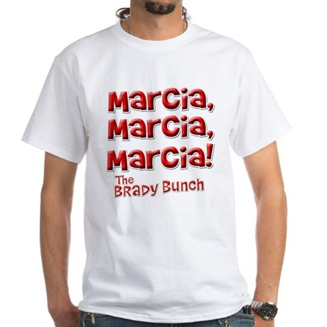 Marcia Brady Bunch White T-Shirt