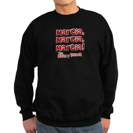 Marcia Brady Bunch Dark Sweatshirt
