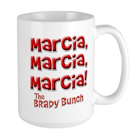 Marcia Brady Bunch Large Mug