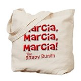 Marcia Brady Bunch Tote Bag